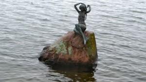 Kleine Meerjungfrau im Dieksee
