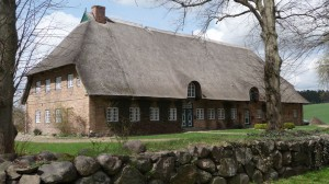 Schönes Retdachbauernhaus bei Gut Stendorf