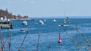 Neustädter Bucht zwischen Marina Ancora und Marinestützpunkt
