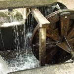 Wasserrad Packan