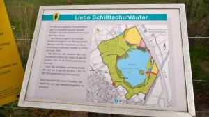 Ruppersdorfer See Ratekau, wieso Schlittschuhläufer?