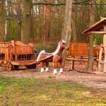 Pony Kutsche Sander Tannen