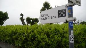 Etappenziel für heute: Fähre Blankenese - Cranz