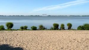Sprung über die Elbe