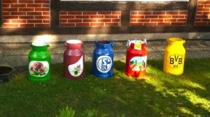 Milchkannenkunst  mit ... Heidemotiven...?
