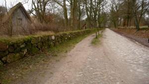 Autofreie Straße in Wilsede
