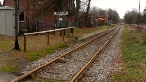 Verlassener Bahnhof Bispingen (nur Heideexpress)