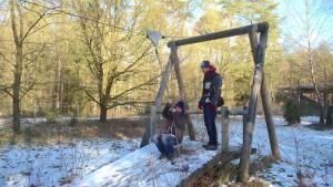 E1 Schummelversuch auf Abenteuerspielplatz Luhegrund
