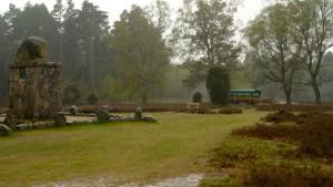 Lönsstein und Kutsche am Wietzer Berg, wenn es nur nicht regnete.