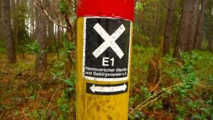 E1 Markierungsdesign
