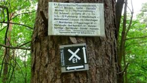 E1 Wandermarker