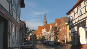 Bad Münder Altstadt lässt der E1 aus :-(