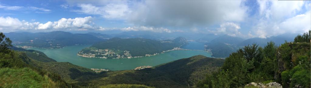 Aublick vom Monte San Giorgo