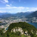 Ausblick vom San Salvatore nach Lugano