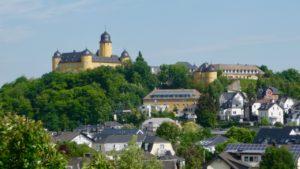 Schloss Montabaur, last glimpse