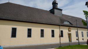 Kirche und Kurfürstenhalle