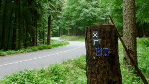 Endlich weg von der Landstraße! Hier lieber Motorradfahren.