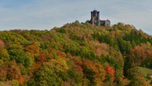 Schaumburg mit Herbstfarben