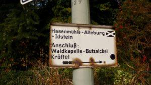 E1-056 (Heftrich – großer Feldberg – Hohemark) 26km laut GPS auf dem E1, 4 Caches gehoben